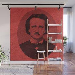Edgar Alan Poe Line Wall Mural