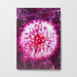 LIGHT FLUFF ( GIRLS ) NO BORDER Metal Print