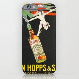 Advertisement john hopps sons mazaro del vallo iPhone Case