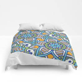 Mandala Geometrico Comforters