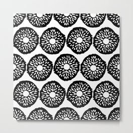 Abstract Hand Drawn Patterns No.8 Metal Print