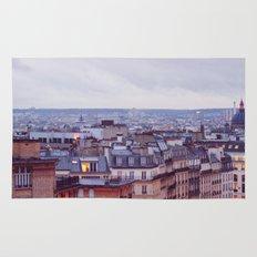 Rainy Paris. Rug