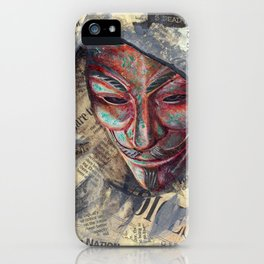 Fawkes iPhone Case