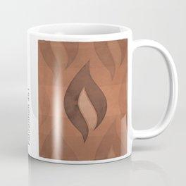 "Ray Bradbury ""Fahrenheit 451"" - Minimalist illustration literary design, bookish gift Coffee Mug"