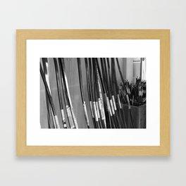 Archery Practice Framed Art Print