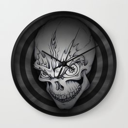 Every man must die Wall Clock