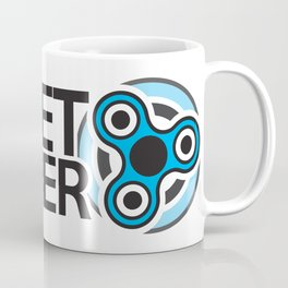 Fidget Spinner Icon Coffee Mug