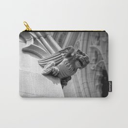 Smiling Gargoyle Carry-All Pouch