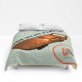 I Like to Go Fast! Comforters
