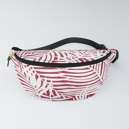 Bright Tropical Island Red Fanny Pack