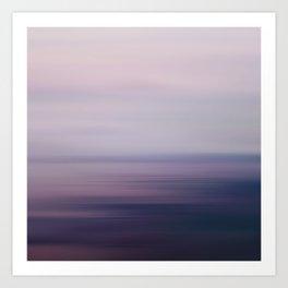 Blured Sea Art Print