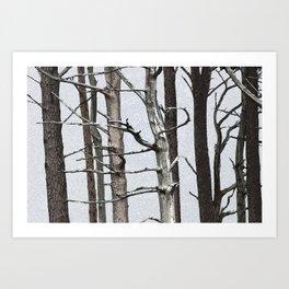 Tree life Part III Art Print