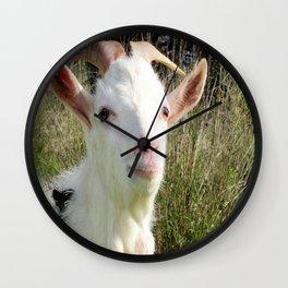 Goat Portrait Wall Clock