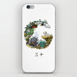 Studio Ghibli iPhone Skin