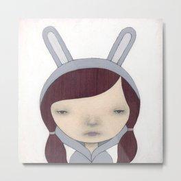Bunny Suit IV Metal Print