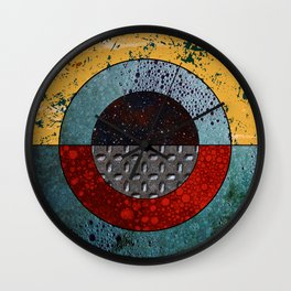 Abstract #127 Wall Clock