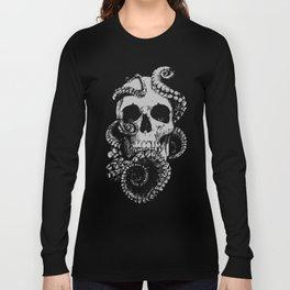Skull & Octopus Long Sleeve T-shirt