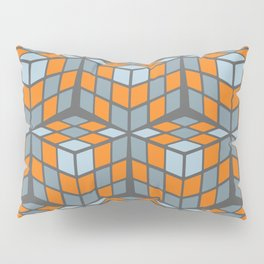 cascade - orange Pillow Sham