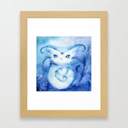 Serena Cat : Peace Framed Art Print