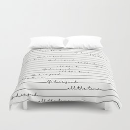 God Is Good All the Time Duvet Cover