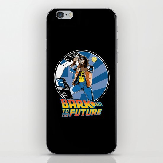 Bark to the Future iPhone & iPod Skin