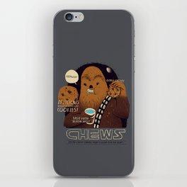 chews iPhone Skin