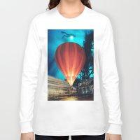 balloon Long Sleeve T-shirts featuring Balloon by John Turck
