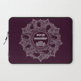 Surya namaskar Laptop Sleeve