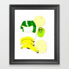 Still I Framed Art Print