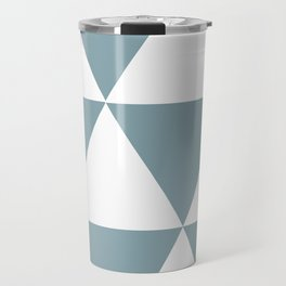 Life in Triangles Travel Mug