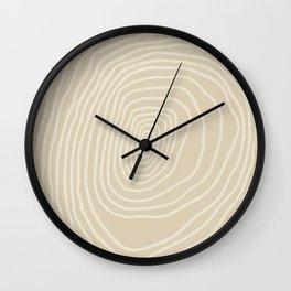 Vestigĭum #1 Wall Clock