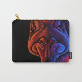 Fire Wolf Colorful Fantasy Animals Carry-All Pouch
