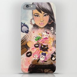 Inner Child Superstar iPhone Case