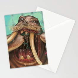 Remember to floss Stationery Cards