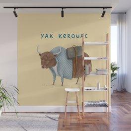 Yak Kerouac Wall Mural