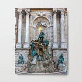 Matthias Fountain Metal Print