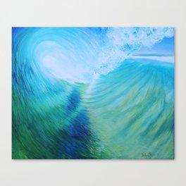 Endless Barrel, Big Wave Series Canvas Print
