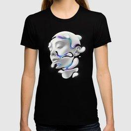 3D Woman Face T-shirt