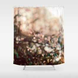 Early October Abstract Shower Curtain