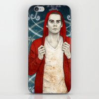 stiles iPhone & iPod Skins featuring Stiles demon by Sudjino