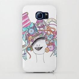 365 cabelos - sewing iPhone Case