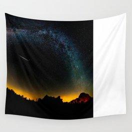 Milky Way & Perseid Meteor Shower - Joshua Tree 2016 Wall Tapestry