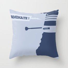 DALEK - EXTERMINATE! Throw Pillow
