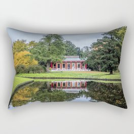 Surrounded by Autumn Rectangular Pillow