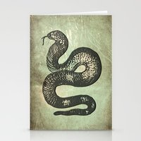 snake Stationery Cards featuring Snake by LoRo  Art & Pictures