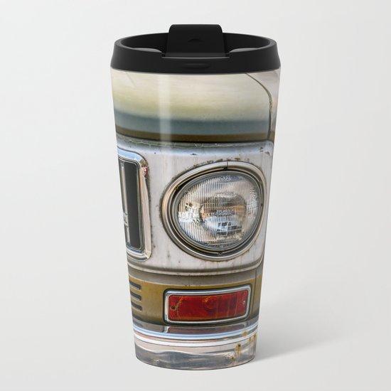 Vintage International Metal Travel Mug