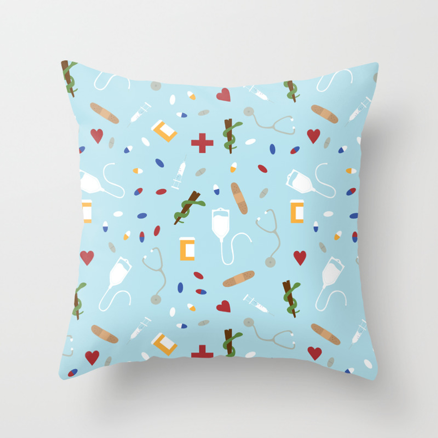 Hospital Throw Pillow By Svaeth Society6