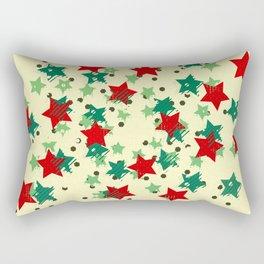 5 Colors Composition (#2) Rectangular Pillow