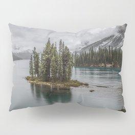 Landscape Maligne Lake Photography | Alberta | Canada Pillow Sham