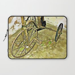 Once Upon a Time - Toy Trike Laptop Sleeve